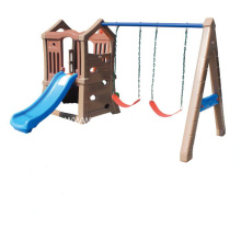 Best Quality for Outdoor Playground Swing Set Hot Sale Outdoor Playground with Swings supply to Uganda Factory